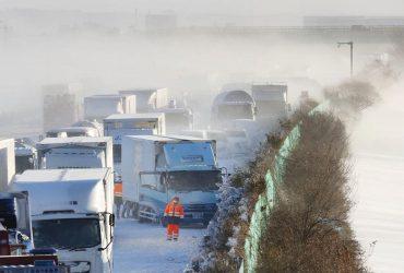 В Японії при прибиранні снігу загинули понад 60 осіб