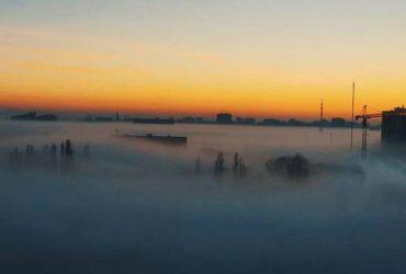 Одессу окутал необычный туман: появились фото