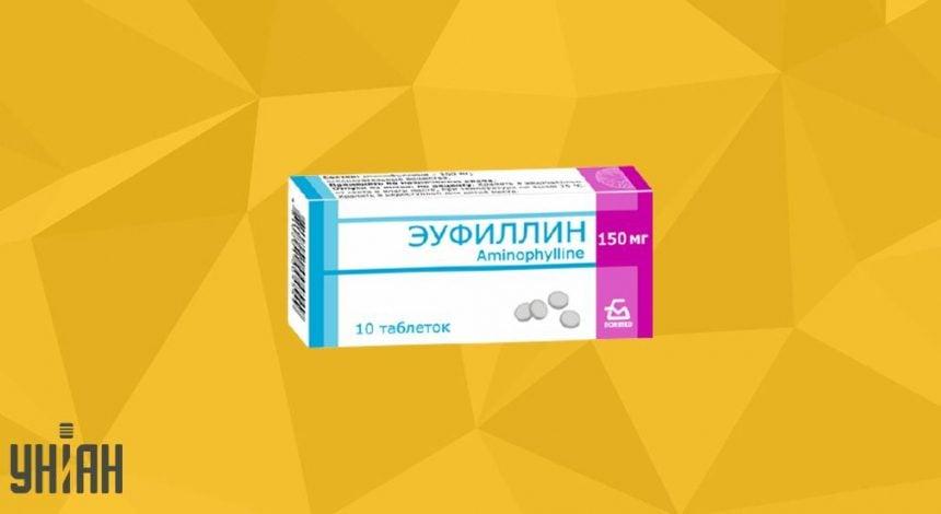 Эуфиллин таблетки фото упаковки