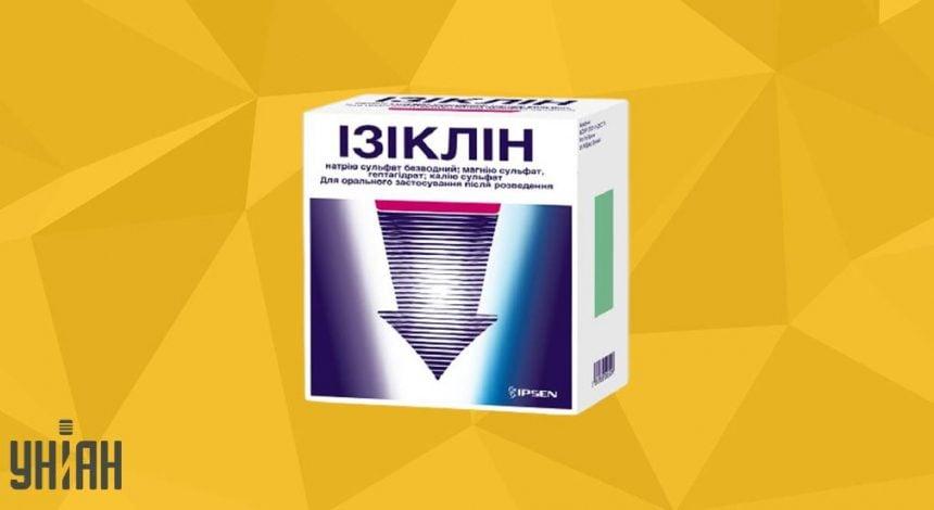 Ізіклін фото упаковки