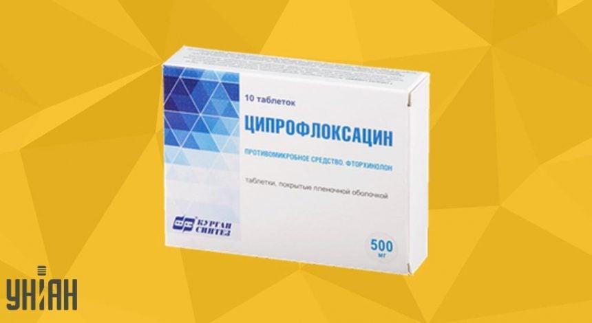 Ципрофлоксацин 500 фото упаковки