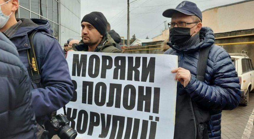 На Одещині моряки перекрили трасу на Київ, вимагаючи відставки міністра інфраструктури