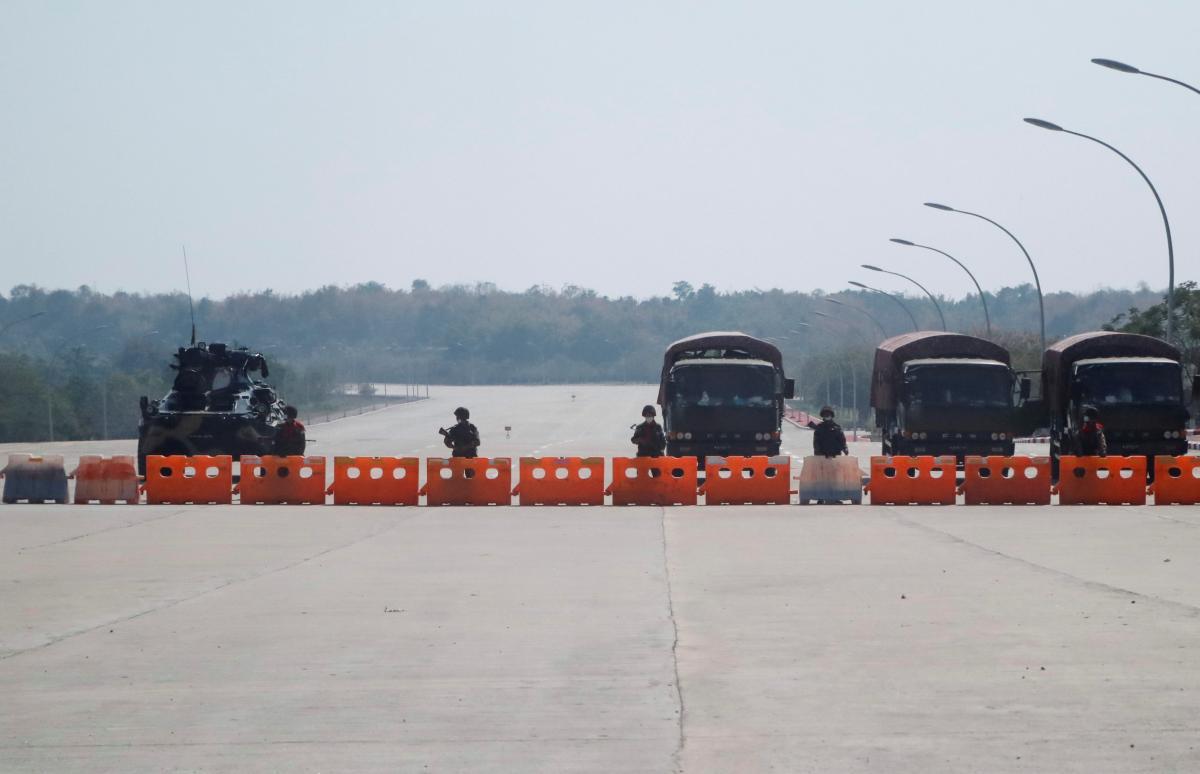 В Мьянме военные захватили власть \ фото REUTERS