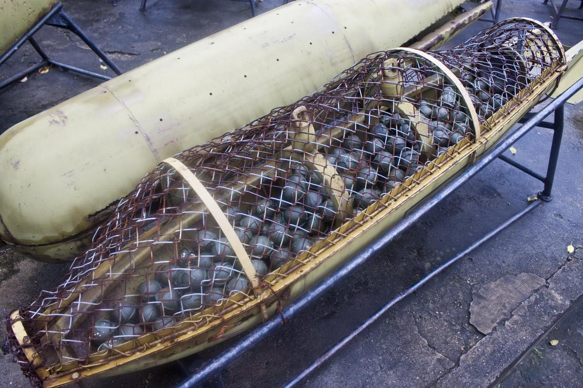 Кассетные боеприпасы считаются негуманным оружием / фото ua.depositphotos.com