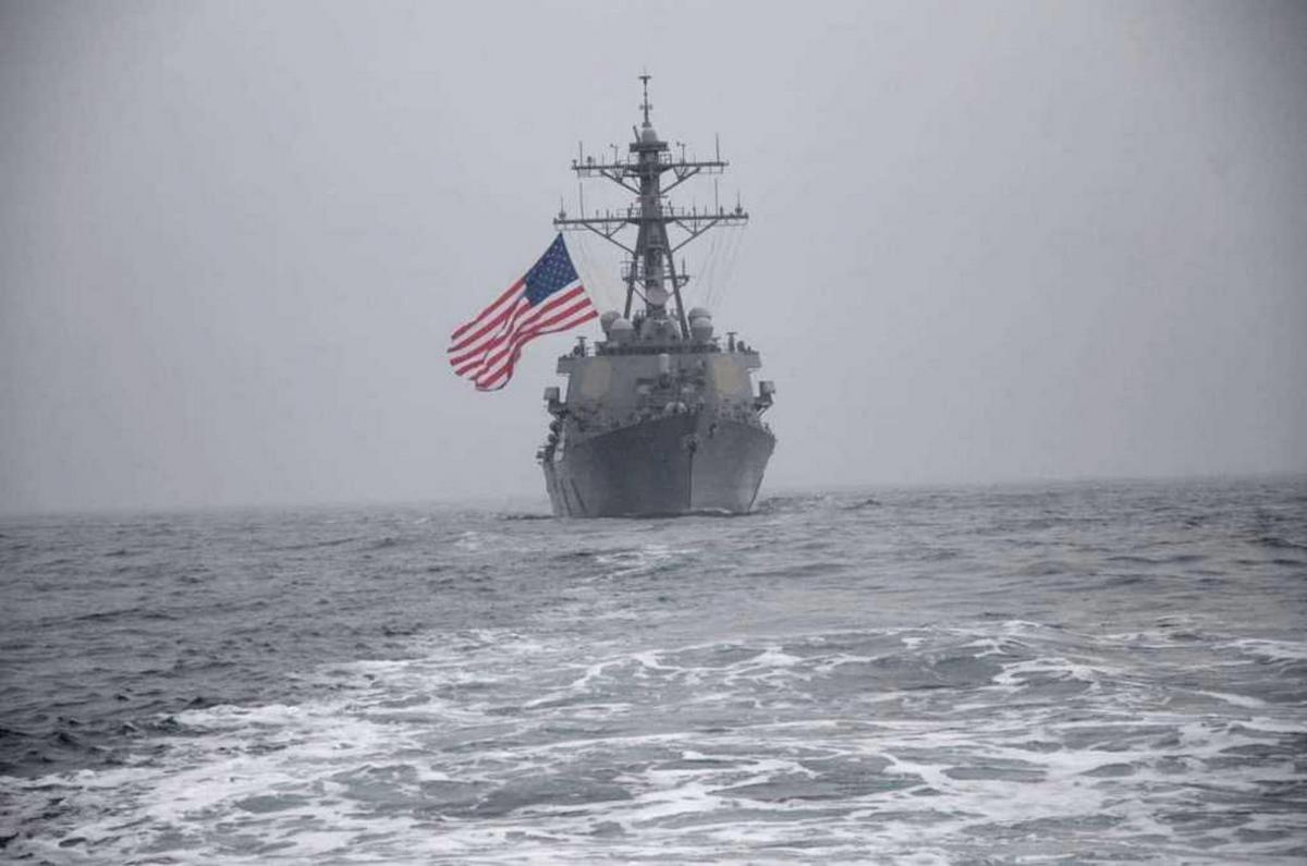 Кораблі США у Чорному морі - Reuters: цього тижня запланованого розміщення есмінців США не буде / фото ВМС ЗС України