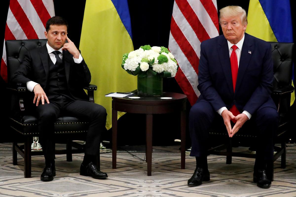 Зеленский назвал неправильным опубликование стенограммы его разговора с Трампом / фото REUTERS