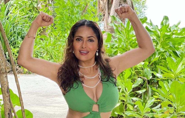 Актриса показала фото / instagram.com/salmahayek