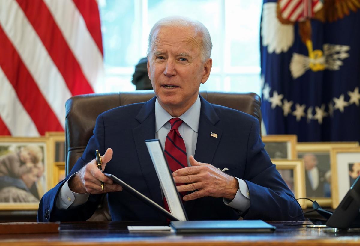 Zelensky wants to involve Biden in Normandy format/ REUTERS