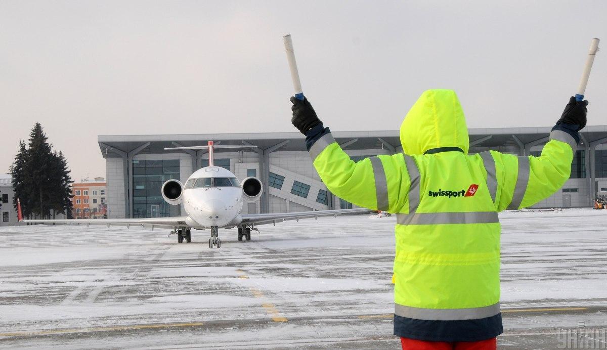 В аэропорту харькова на вылет задержаны два рейса \ фото УНИАН