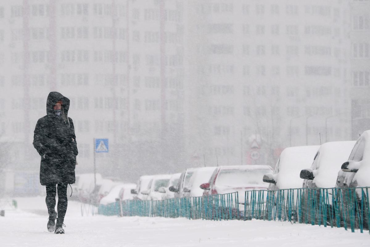 Украину засыпало снегом , но погода будет меняться / Фото REUTERS