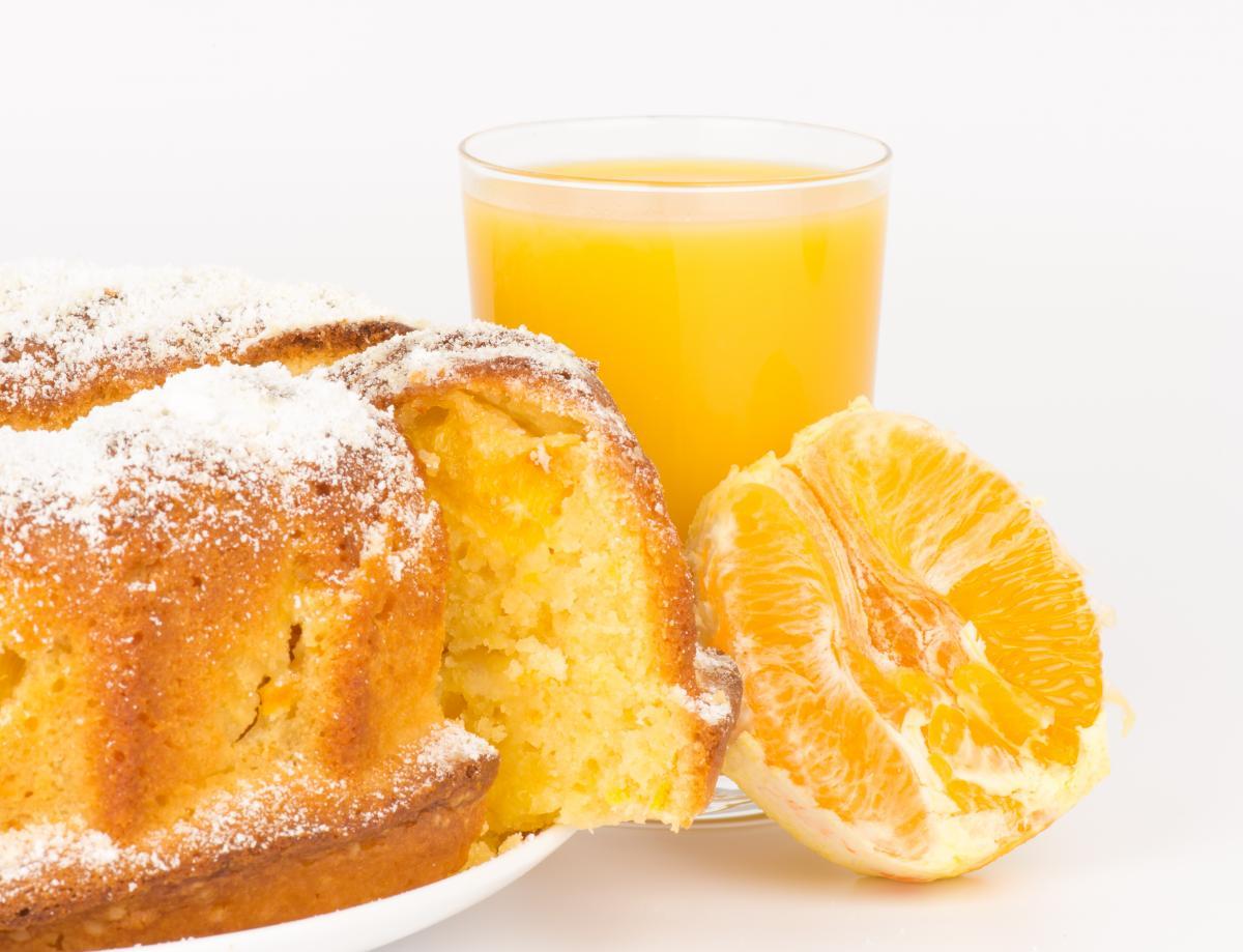 Апельсиновый кекс - рецепт / фото ua.depositphotos.com