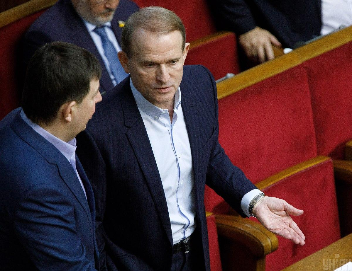 Searches reported at MP Medvedchuk's house in Kyiv / Photo from UNIAN