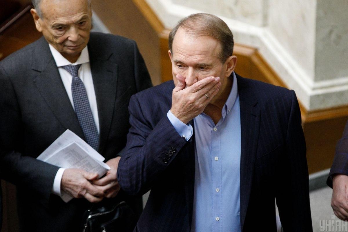 The sanctions were used against TV channels related ot MP Viktor Medvedchuk/ Photo by Volodymyr Strumkovsky, UNIAN