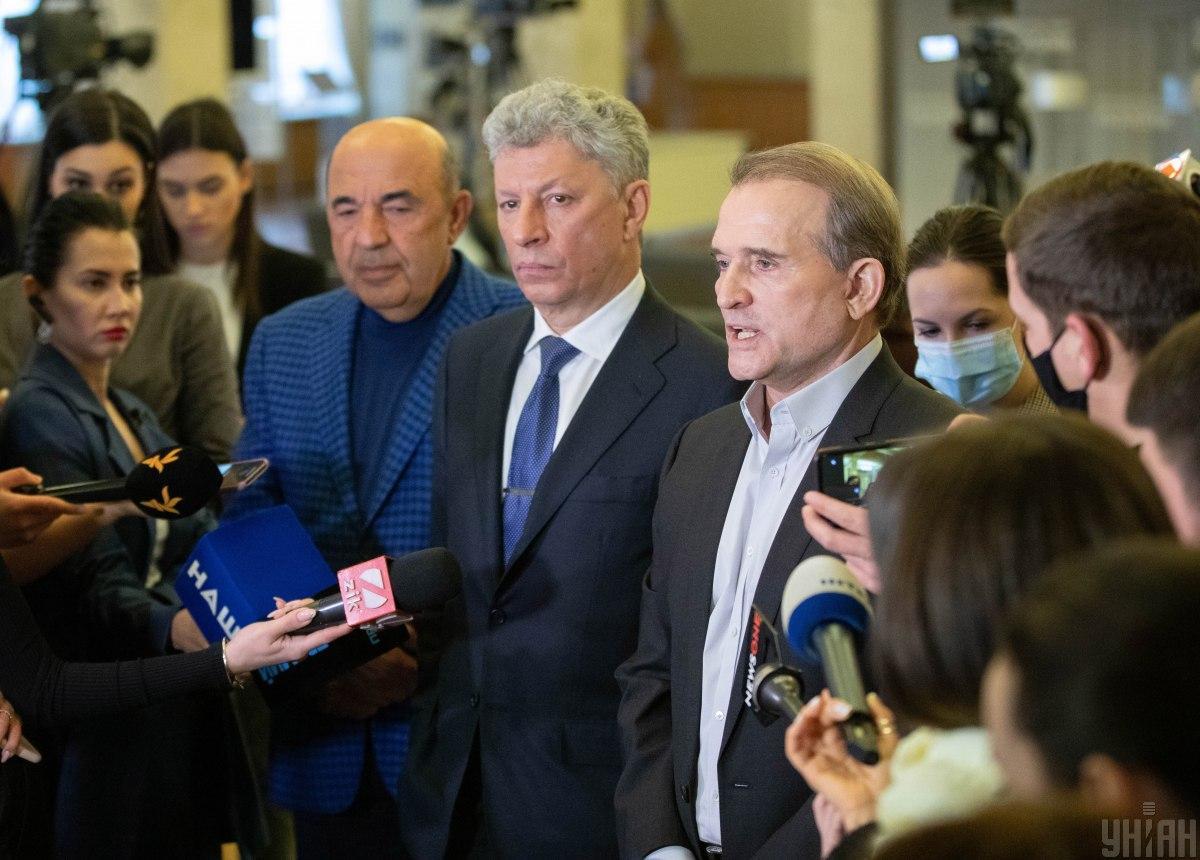 Санкции против Медведчука - кум Путина собирает новый медиахолдинг, говорит Ткаченко / Фото УНИАН, Александр Кузьмин