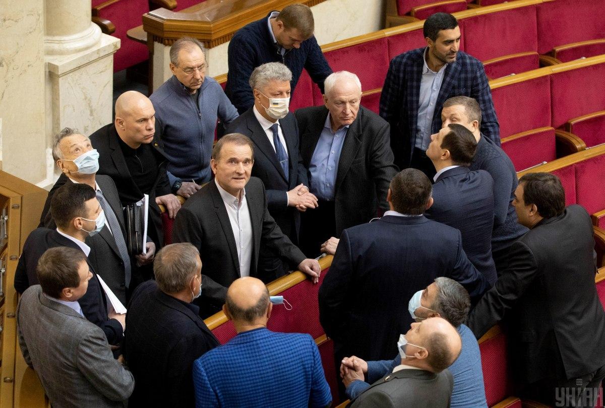 ОПЗЖ состоит из разных групп и управляют ими разные лидеры / Фото УНИАН, Александр Кузьмин