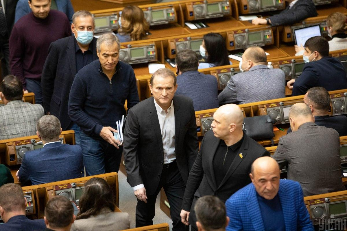 Медведчуку и Козаку объявили подозрение в госизмене / Фото УНИАН, Александр Кузьмин