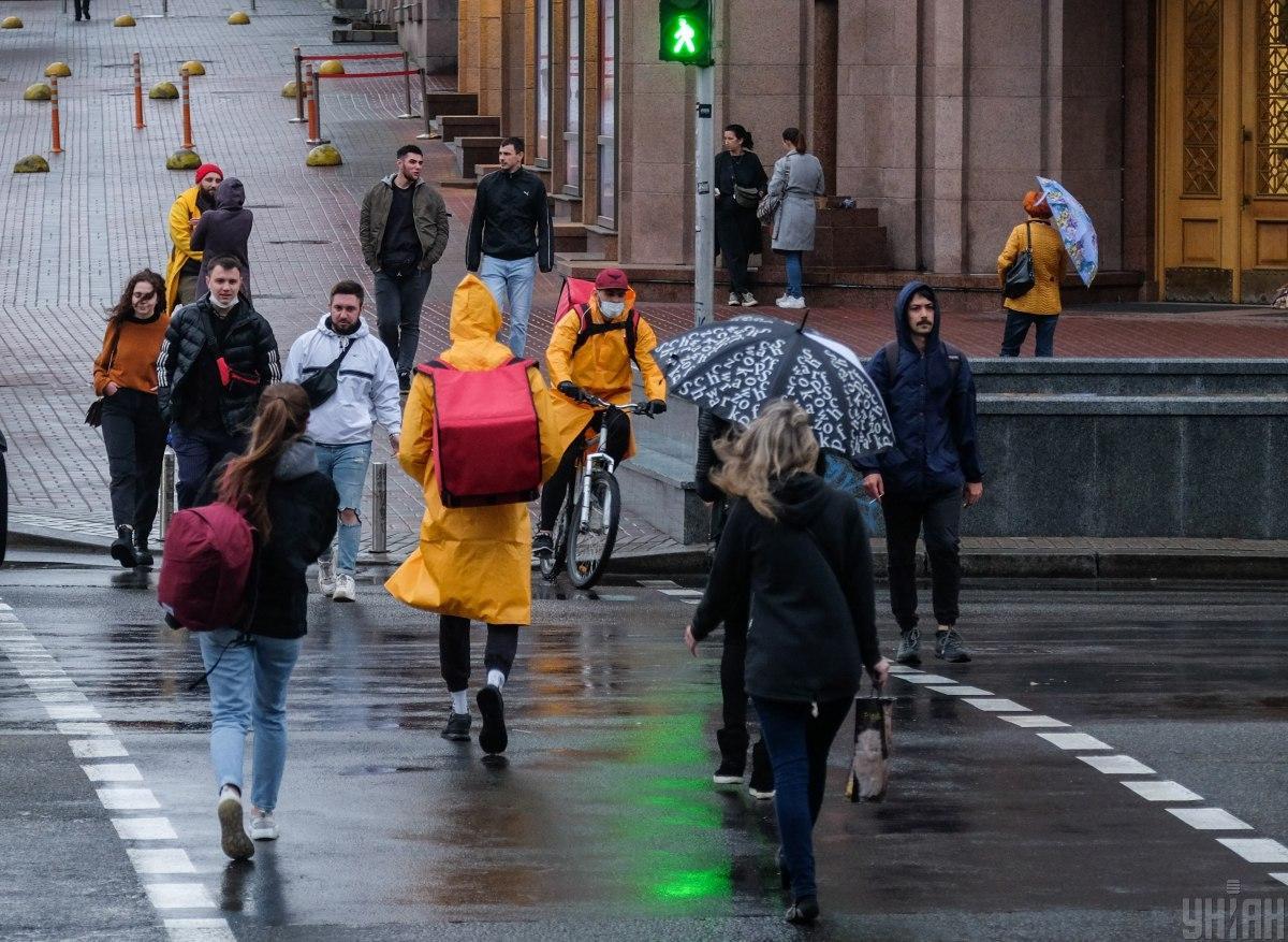 Сьогодні ввечері у столиці дощитиме / фото УНІАН