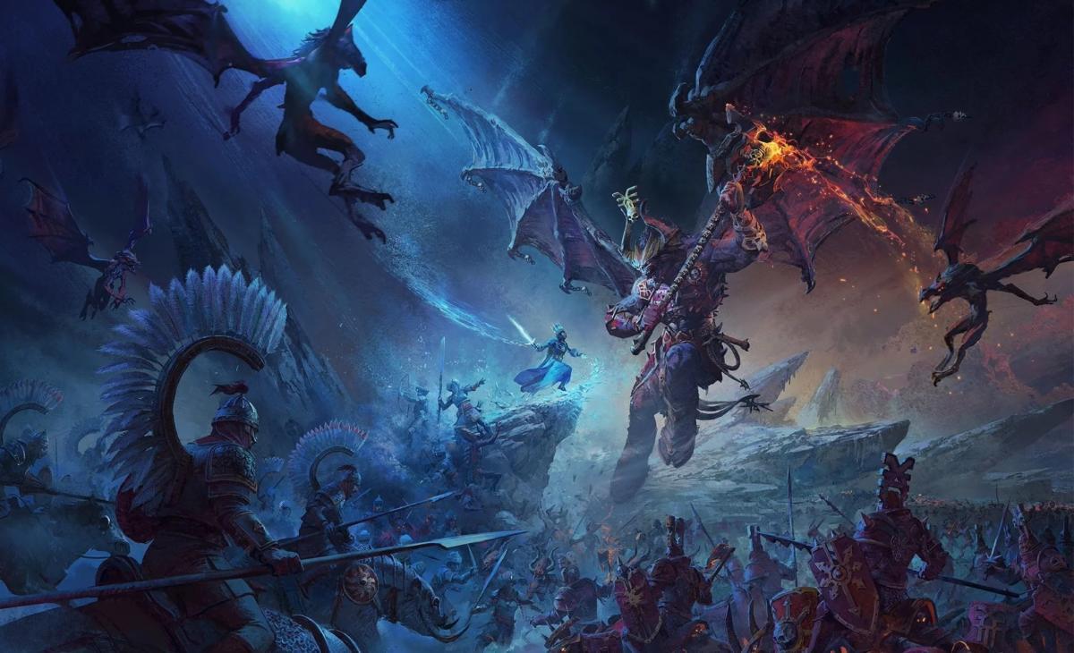 Total War: Warhammer 3 выйдет в 2021 году /фото Creative Assembly