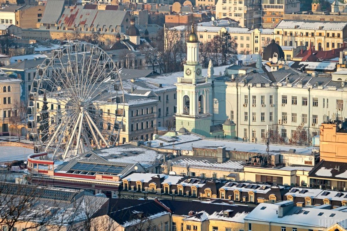 Киев красив в любое время года / фото УНИАН (Борис Корпусенко)