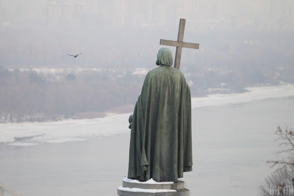 Киев заметет снегом / фото УНИАН (Борис Корпусенко)