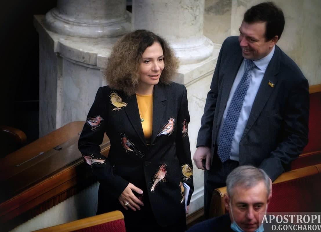 Депутат показала модное платье / apostrophe.ua