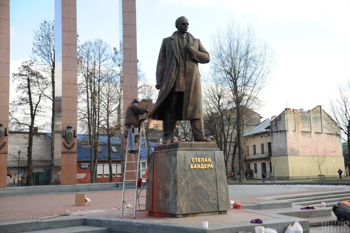 Бандеру лишили звания Героя Украины в 2010 году / фото УНИАН, Николай Тис