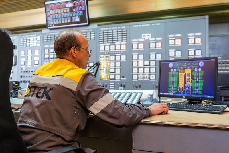 Сейчас работают третий и четвертый энергоблоки станции / фото dniproenergo.com.ua