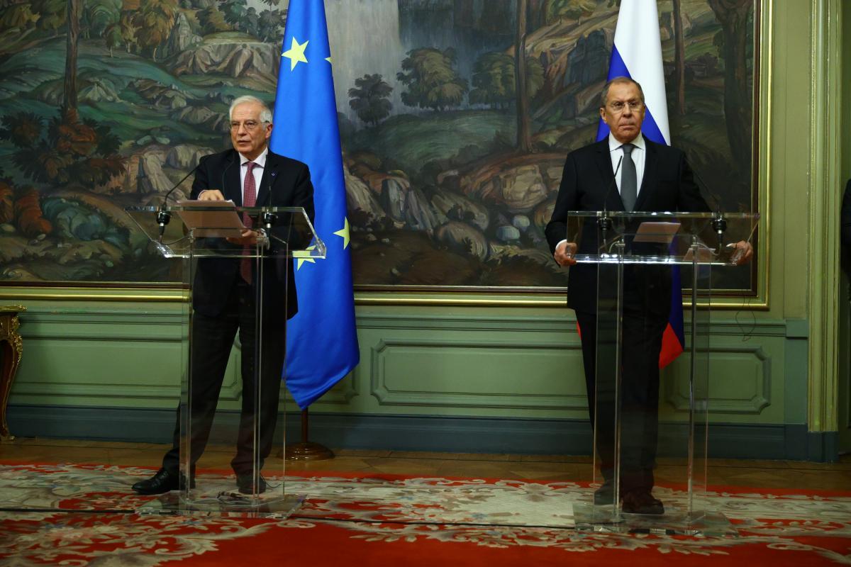 Визит Борреля в Россию унизил ЕС / фото REUTERS