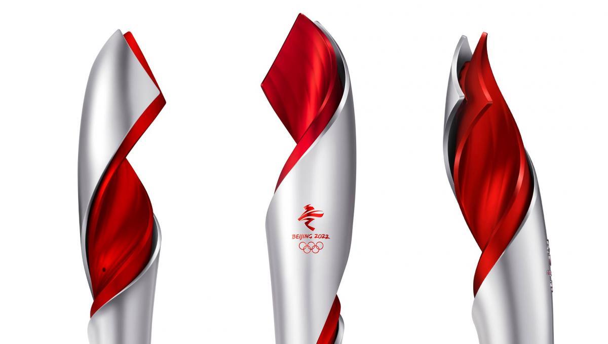 Дизайн олимпийского факела / фото IOC