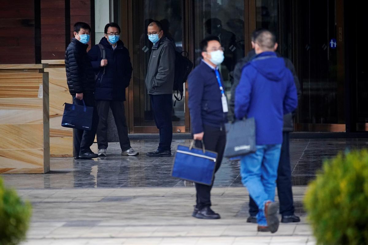 Делегация ВОЗ в Китае получила полный доступ к объектам для изучения COVID / фото REUTERS
