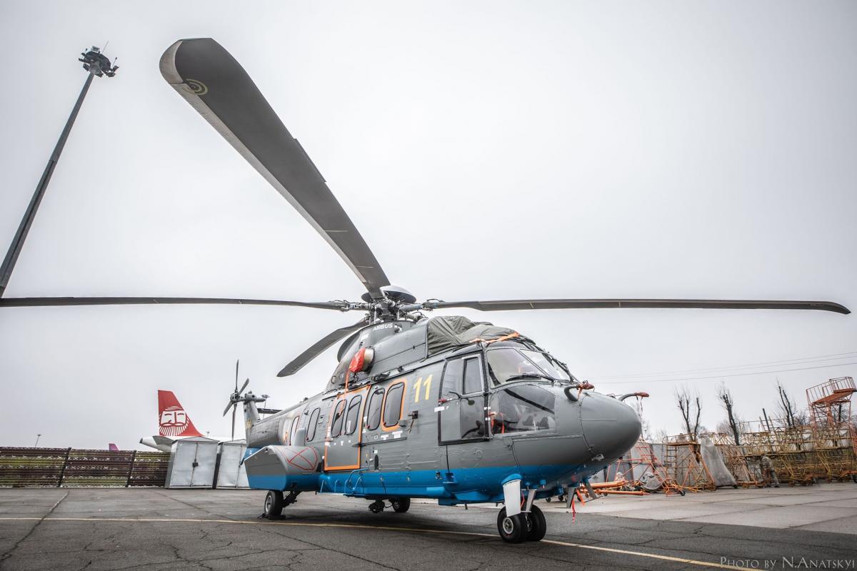 Нацгвардия получит 10 французских вертолетов / фото mvs.gov.ua
