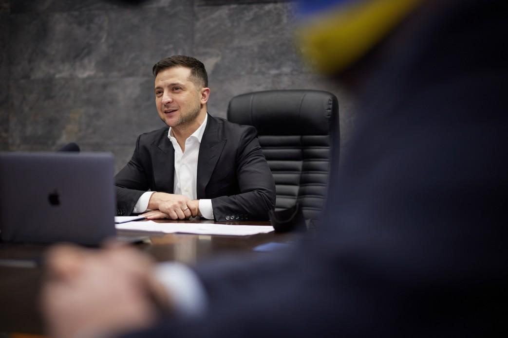 Зеленский не знает, пойдет ли на второй срок - Мендель / фото president.gov.ua