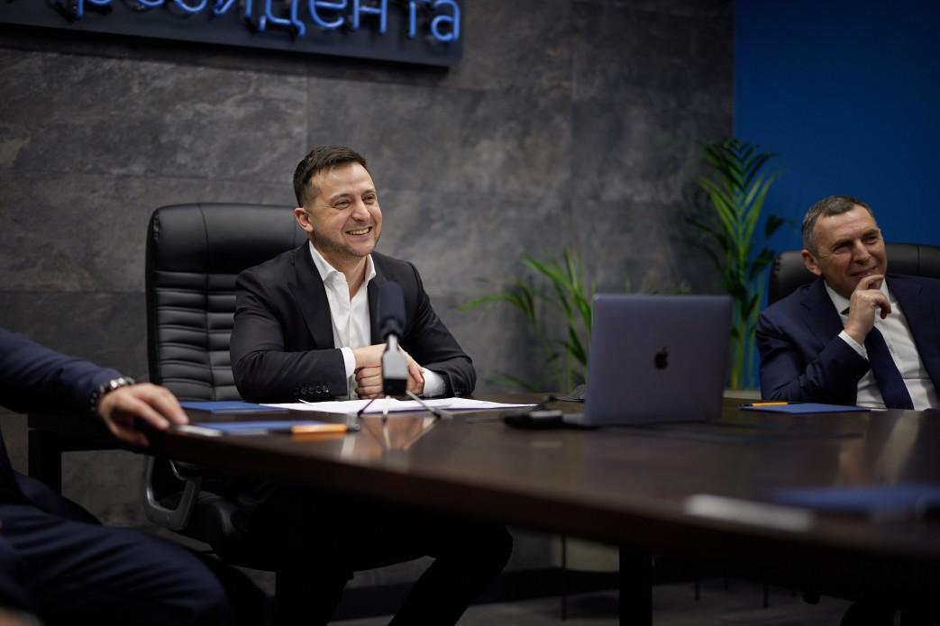 Зеленський збільшив кількість працівників апарату РНБО – указ / president.gov.ua