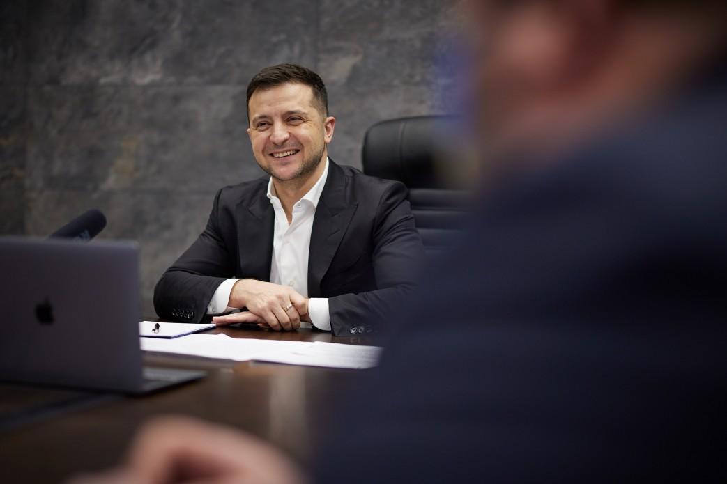 Закон про всеукраїнський референдум направили на підпис Зеленському/ фото president.gov.ua