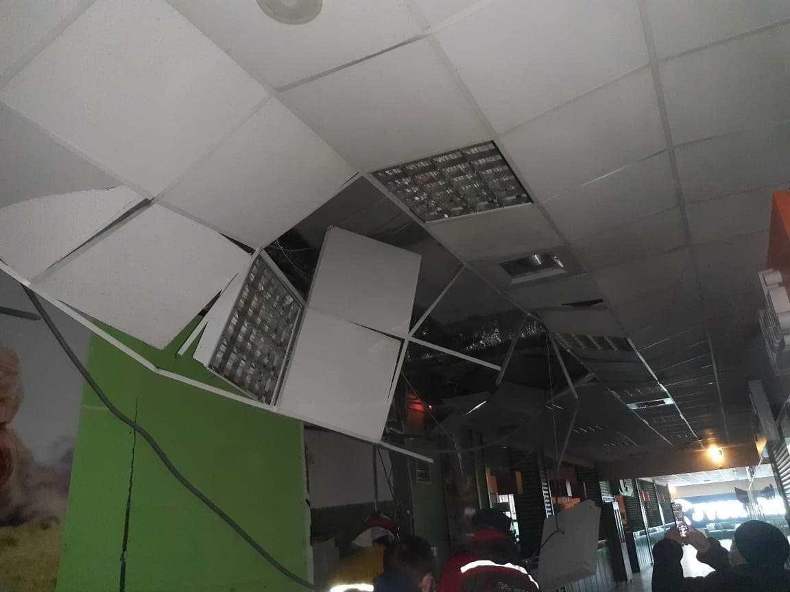Взрыв произошел на третьем этаже в складском помещении / фото Нацполиции