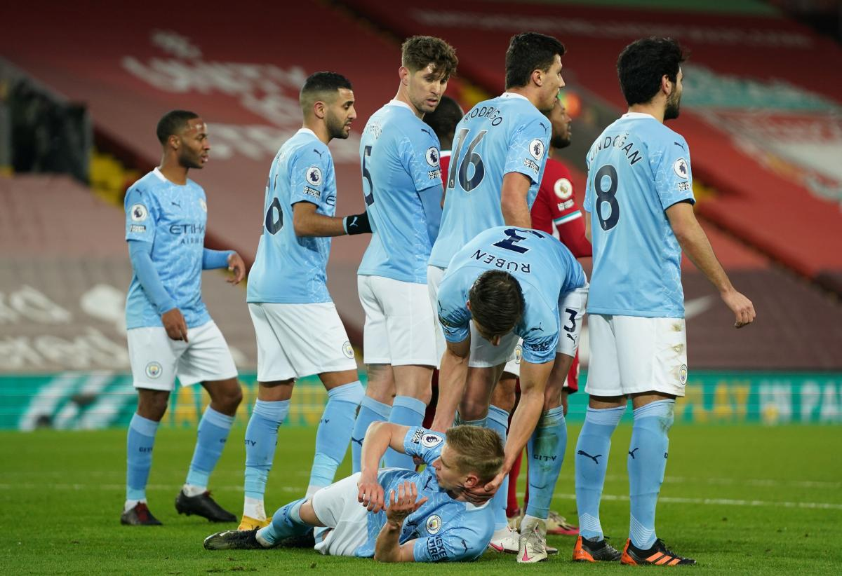 Alexander Zinchenko - Curiosity with Zinchenko in the match Man City became  a hit in the video network - Football news - UNIAN