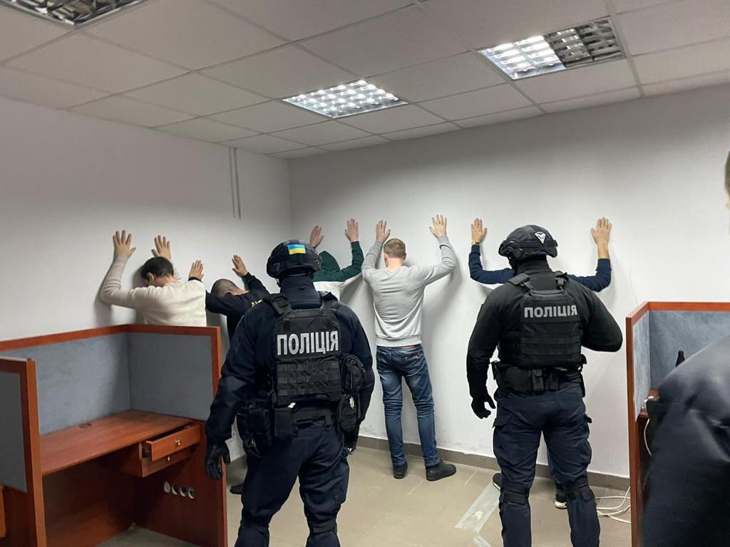 Участниками преступной схемы были более 30 человек / фото cyberpolice.gov.ua