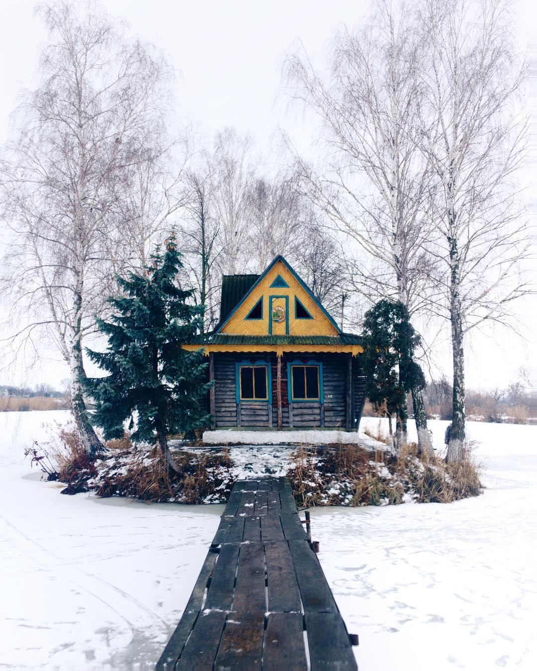 14 февраля в Украине места / фото instagram.com/verapasko