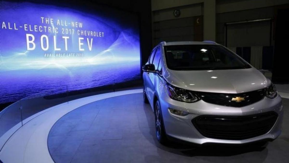 Самым популярным электрокаром в Украине в январе стал Chevrolet Bolt / REUTERS