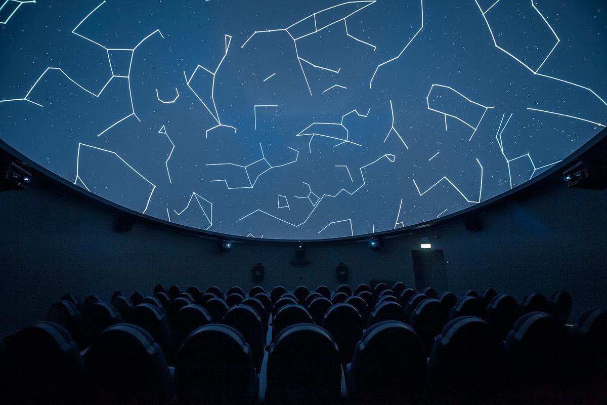 Серце планетарію – зоряна зала / Фото надані планетарієм