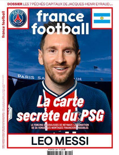 Обложка France Football / Twitter