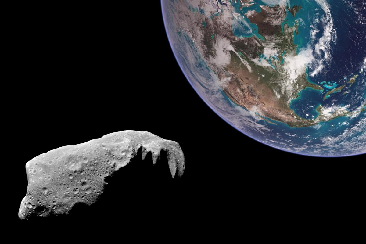 Астероид приблизится к земле на расстояние 4,1 миллиона километров./ фото ua.depositphotos.com