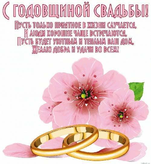 С годовщиной свадьбы родителей поздравления / фото klike.net