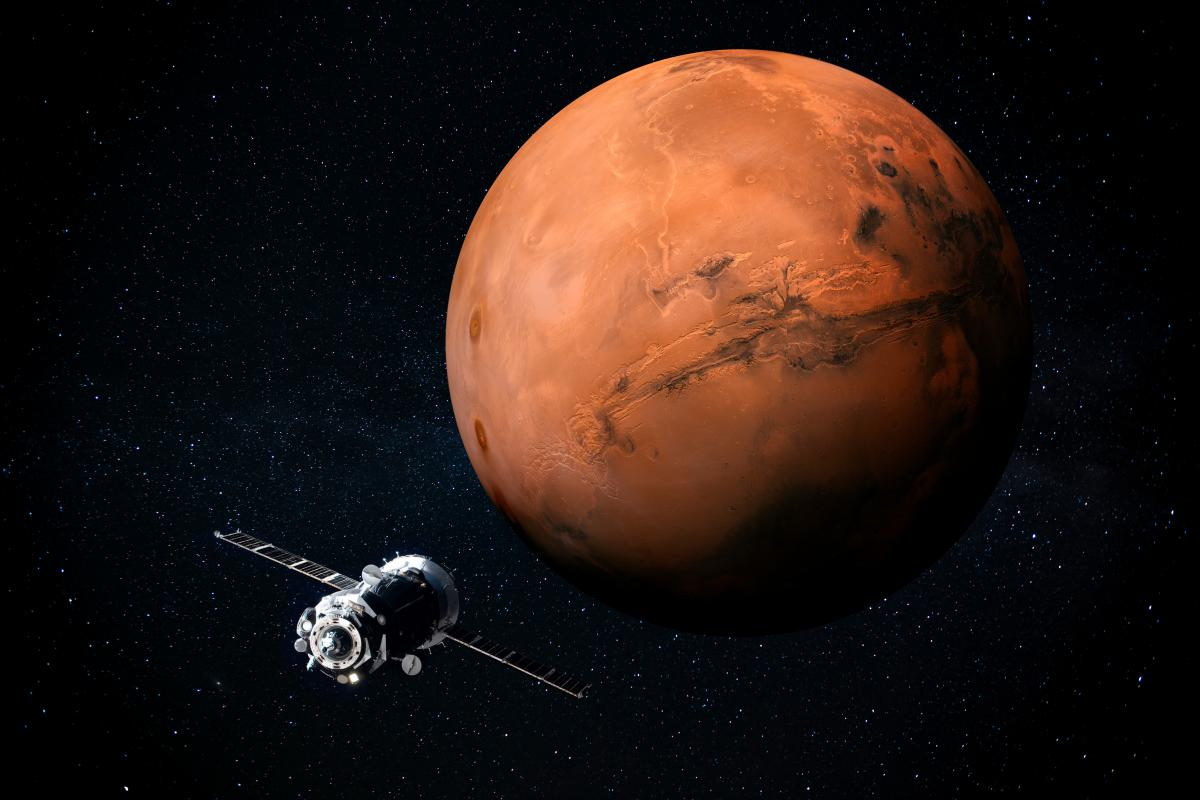 КНР планує побудувати базу на Марсі / фото ua.depositphotos.com