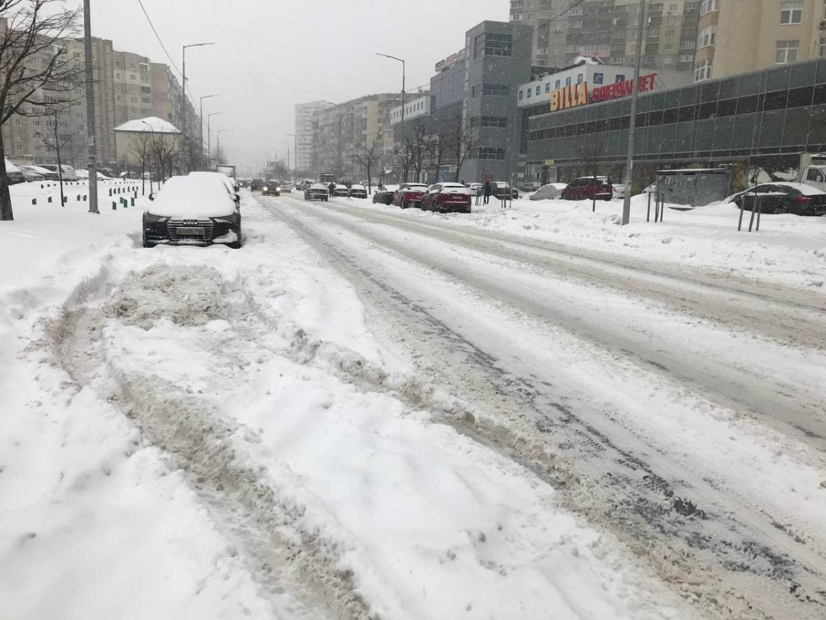 Дороги засипані снігом / фото УНІАН, Юрій Годован