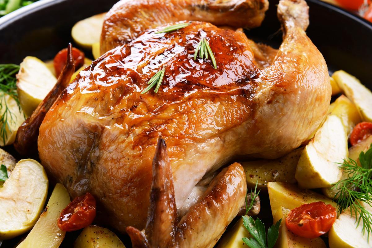 Утка с яблоками - рецепты вкусной птицы / фото ua.depositphotos.com
