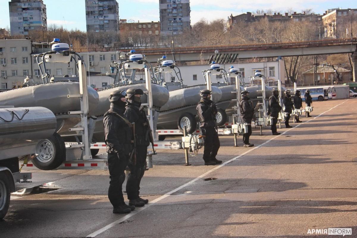 Украинские военные получили 10 скоростных катеров Willard / фото армия