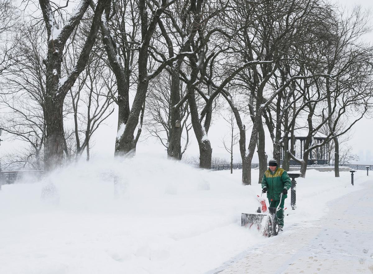 Украину ждут сильные морозы и местами - снегопады / Фото REUTERS