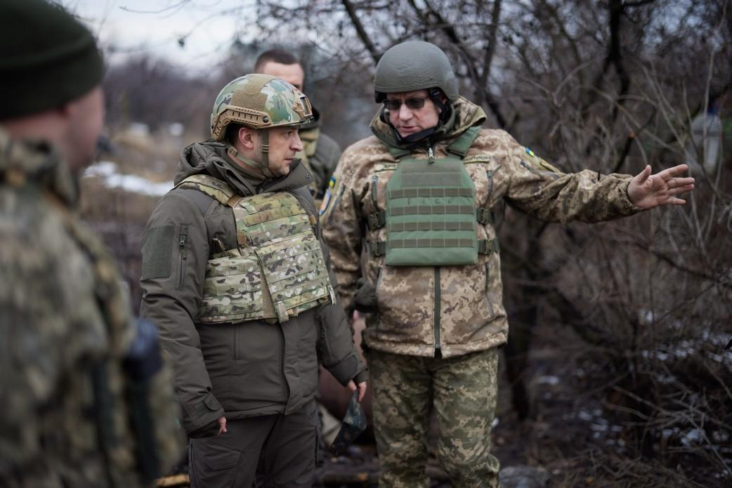 Ukraine's military chief elaborates on risks of offensive to retake Donbas / Photo from the President's Office