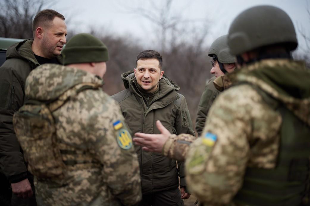 Зеленский поехал в Луганскую область \ Офис президента